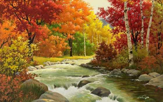 осень, картинка