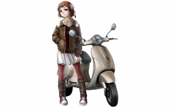 kotikomori, motorcycle