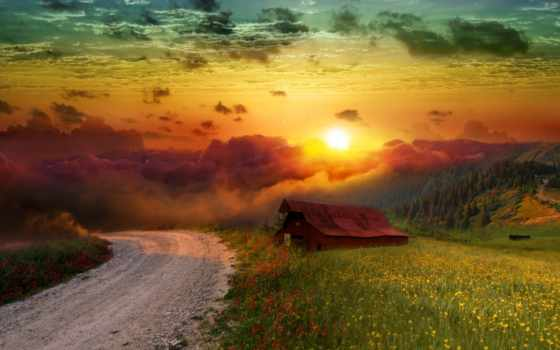 paisagens, parede, quebra, cabeça, papel, injury, извилины, смартфонов, youtube, идеи, peaceful,