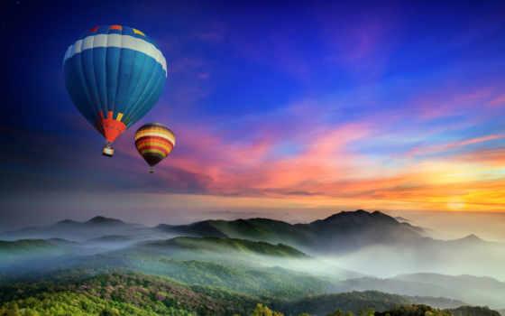 воздушные, шары, коллекция, загружено, уже, лучшая, небо,