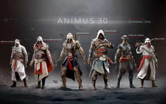 assassin, creed, game, команда, black, available, ассасин