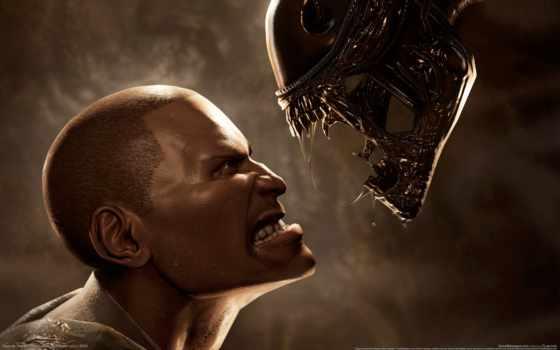чужой, aliens, predator, против, пехотинец, хищника, игры, games, òìðî, game, alien, filmy,