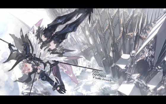 anime, fantasía