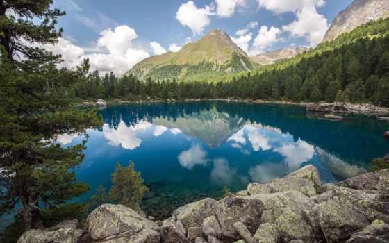 природа, мира, красивая