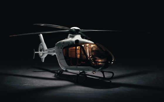 модель, вертолет