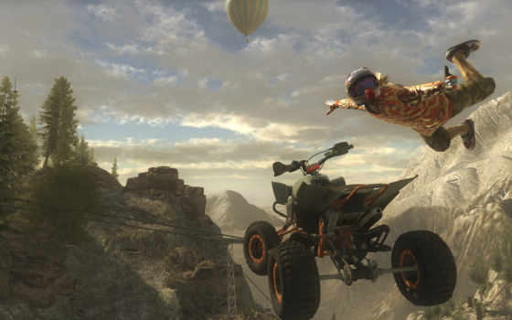 квадроцикл, игры, possible, race, установить, прыжок, pure,