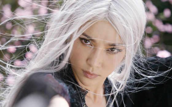 волосами, белыми, девушка, devushki, банка, волосы, рейтинг,
