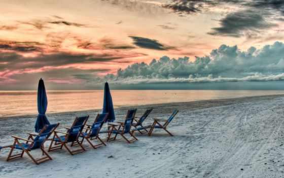 пляж, widescreen, закат, wide, high, definition, desktop, wuxga,