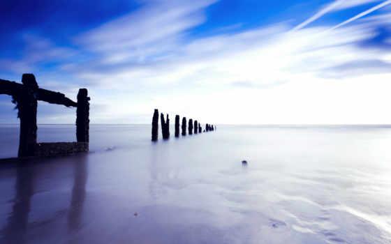 fondos, playa, pantalla, serenidad, estrecho, calma, canal, gratis,