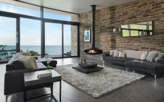 living, house, открыть, plan, современный, комната, kitchen, architecture, design, arco,