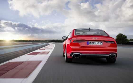 ауди, coupe, new, драйв, red, взгляд, автомобили,