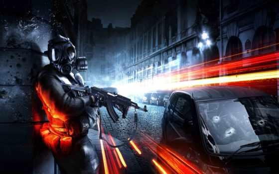 battlefield, солдат, город, автомат, игры, games, шасси, game, max,