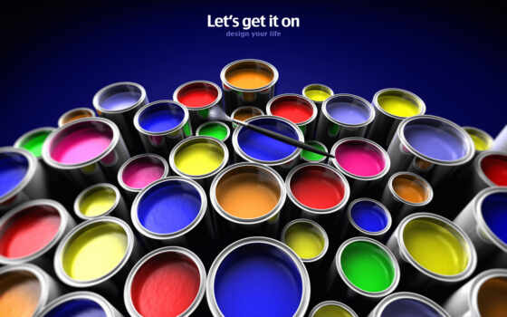 paint, free, bucket, download, get, let, background, widescreen,