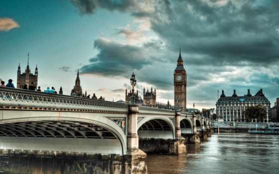 houses, парламент, london, дворец, westminster, великобритания, that, англия, кого, clouds, ук,