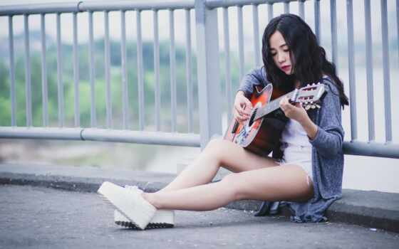 гитара, stand, девушка, музыка, волосы, мини, black, roadside, boom, накладные, смарт