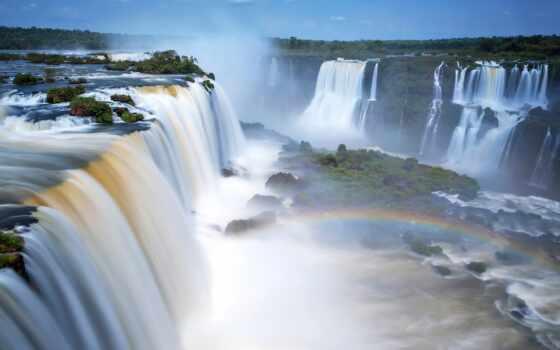 national, аргентина, park, водопад, природа, title, радуга, магазин, река, tourist, high