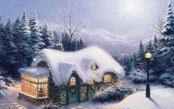 пейзажи -, зимние, winter