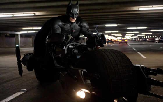 batman, caballero, noche