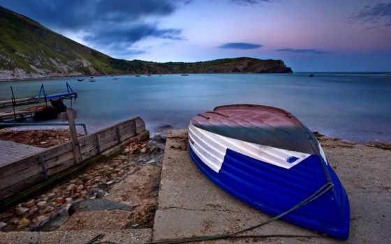 море, природа, лодка, water, ocean, landscape, sun, красивые,