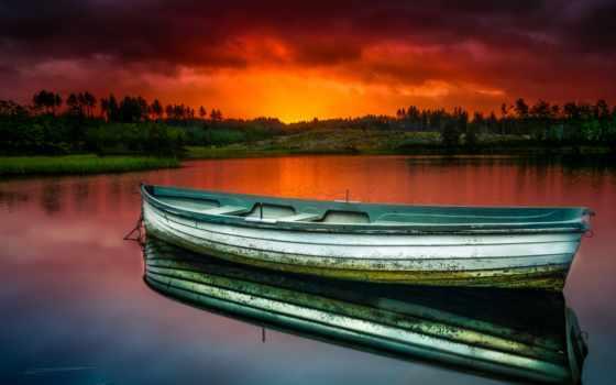 reki, фотографий, природа, map, лодки, higher, boats, zoom,