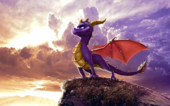 spyro, dragon