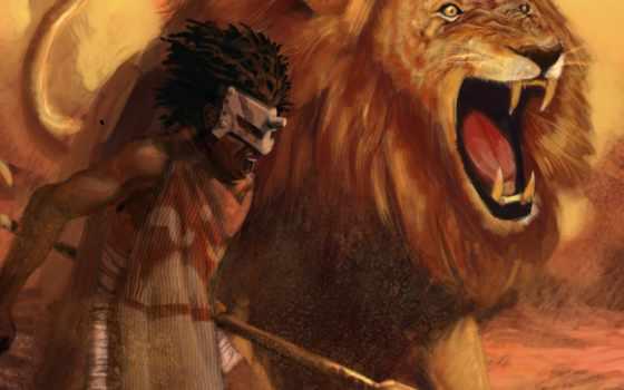 lion Фон № 44579 разрешение 2560x1600