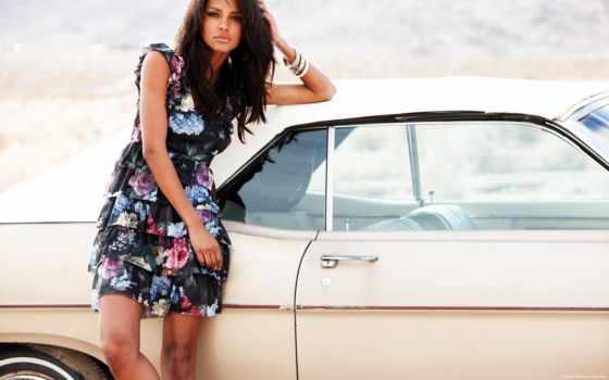 паула, эмануэла, девушка, авто, красавица,
