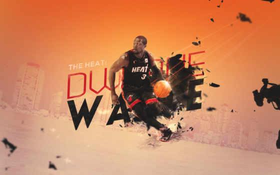 баскетбол, wade, miami