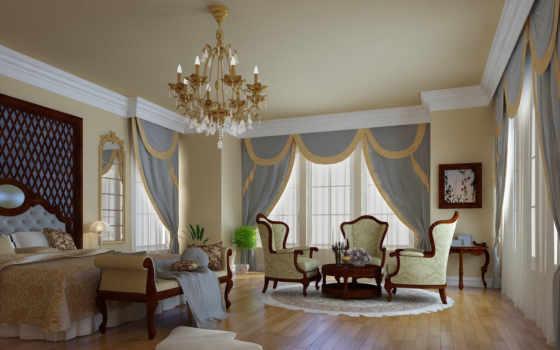 интерьер, design, комната, спальня, стиль,