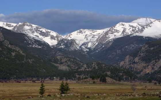 priroda, горы, снег