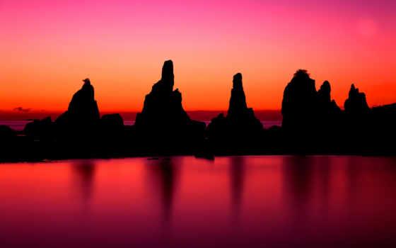 kushimoto, wakayama, япония, higashimuro, префектура, восход, закат,