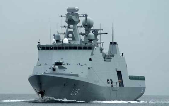 absalon, фрегат, class, корабль, hdm, вид, danish, naval, denmark