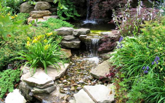 garden, камни, природа, ручей, сады, como, картинку, page, japanese, альпийская, горка, dublin, мыши, кнопкой, правой, miroha,