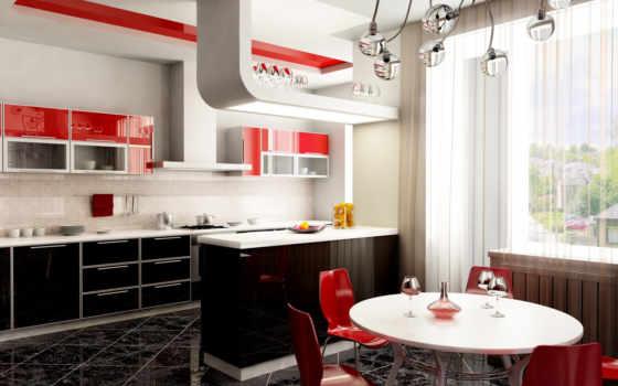 кухни, дизайн, интерьер