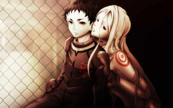 anime, deadman, wonderland