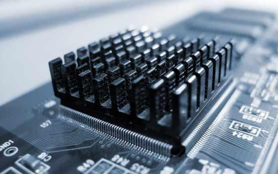 radiator, plata, микросхема