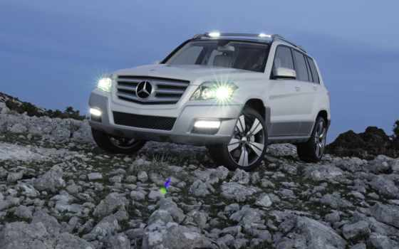 mercedes, glk, benz, freeside, автомобилей, vision,