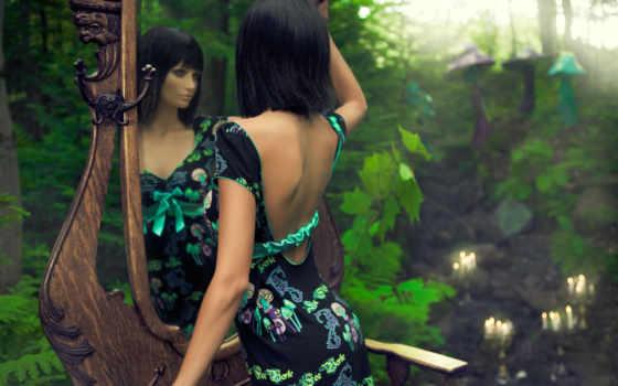 красивые, модель, full, девушка, grace,
