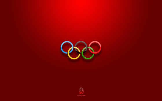 олимпийские, кольца