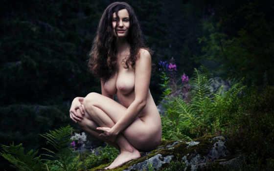 голая девушка на природе Фон № 44014 разрешение 1920x1200