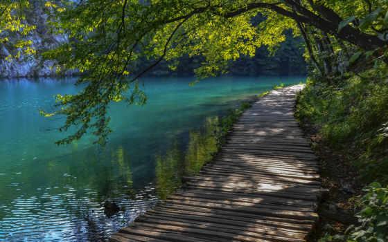 природа, природы, landscape, широкоформатные, хорватия, того, главная, янв,