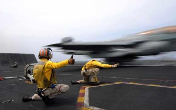 самолёт, авианосец, off, ан, реактивный, два, catapult, полет,