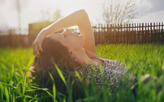телефон, девушка, картинка, plochu, cvety, мороженным, карпович, мирослава, природа, трава,