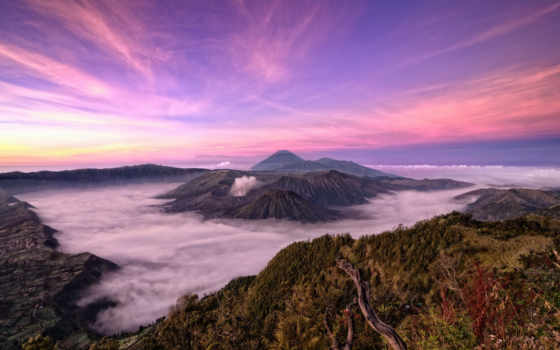 indonesia, природа, бромо, semeru, tengger, taman, nasional, national, park,