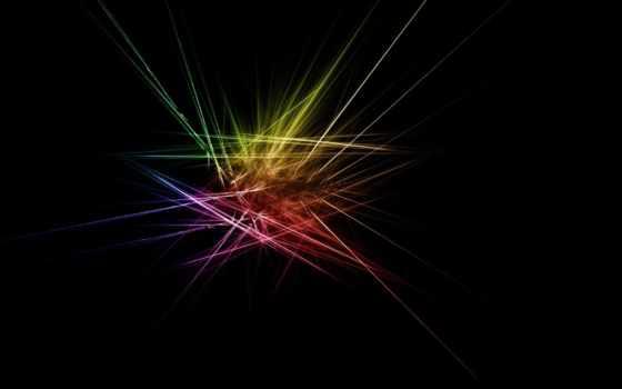 абстракция, black, линии, fone, разные, кубики, абстракции,