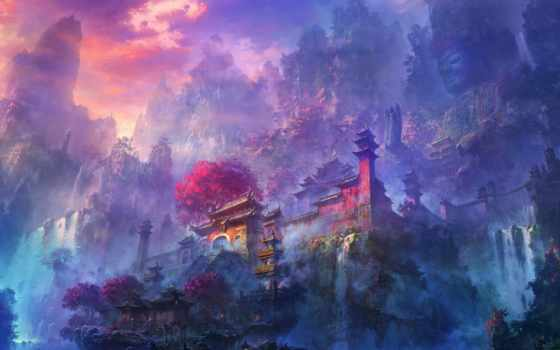 imagined, flows, watercolour, anime, травы, arthur, отъезд, pinterest, сита,