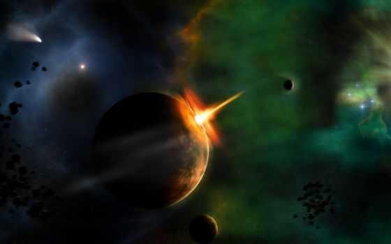 космос, звезды Фон № 24403 разрешение 1920x1200