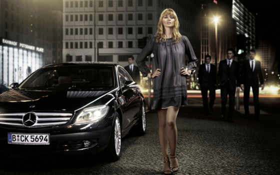 девушка, девушки, mercedes, мерседес, benz, автомобили, тюнинг, авто,