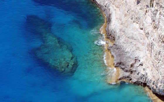 море, камень, пляж