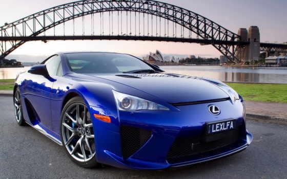 lexus, sydney, lfa, гавань, мост, автомобилей, июль, лексус, тюнинга,
